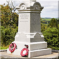 NX6579 : Balmaclellan War Memorial Base by David Dixon