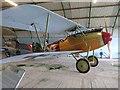 TL8100 : Replica WW1 biplane, Stow Maries Air Museum, Essex by Derek Voller