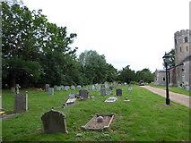 TM2692 : St. Margaret, Topcroft: churchyard (b) by Basher Eyre