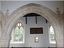TM2692 : Inside St. Margaret, Topcroft (xxviii) by Basher Eyre