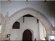 TM2692 : Inside St. Margaret, Topcroft (xxxi) by Basher Eyre