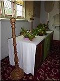 TM2692 : St. Margaret, Topcroft: altar by Basher Eyre