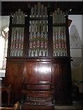 TM2692 : St. Margaret, Topcroft: organ by Basher Eyre