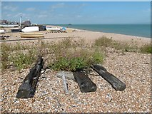 TR3751 : On the beach at Walmer by Marathon