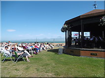 TR3751 : Summer concert on the Deal Memorial Bandstand at Walmer by Marathon