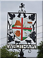 TQ6159 : Wrotham village sign by Oast House Archive