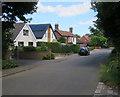 TG3211 : Blofield Corner Road by Hugh Venables