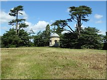 SO8844 : Rotunda Tower, Croome Park by Philip Halling