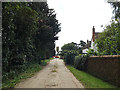 TM0374 : Kiln Farm Lane, Candle Street by Adrian Cable