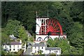 SC4385 : Lady Isabella waterwheel, Laxey by Alan Murray-Rust