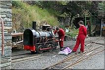SC4384 : Great Laxey Mine Railway, locomotive 'Bee' by Alan Murray-Rust
