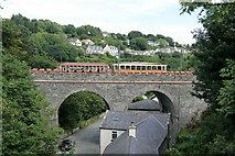 SC4384 : Glen Roy viaduct, Laxey by Alan Murray-Rust