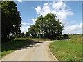 TM0674 : Slough Road & Nan Hazle's Lane Footpath by Adrian Cable