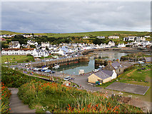 NW9954 : Portpatrick Steps by David Dixon