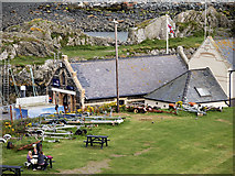 NW9954 : Lifeboat Museum and Gift Shop, Portpatrick by David Dixon