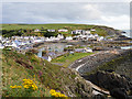 NW9954 : Approaching Portpatrick on the Southern Upland Way by David Dixon
