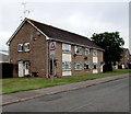 ST1571 : Warning sign - school, Fairoaks, Dinas Powys by Jaggery
