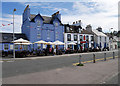 NW9954 : Portpatrick North Crescent, The Waterfront Hotel by David Dixon