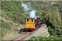 SC4278 : Groudle Glen Railway, Polar Bear leaving Sea Lion Cove by Alan Murray-Rust