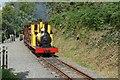 SC4278 : Polar Bear at Lime Kiln Halt, Groudle Glen Railway by Alan Murray-Rust