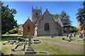 SP0743 : Church of St James, Badsey by David P Howard
