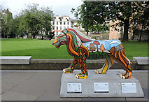 NS4863 : Pride of Paisley lions by Thomas Nugent
