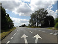 TL9673 : A143 Bury Road, Stanton by Adrian Cable