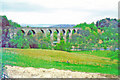 NY4654 : Wetheral Viaduct, 1981 by Walter Dendy, deceased