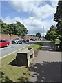 SX9391 : Horse Trough opposite barracks, Topsham Road, Exeter by David Smith