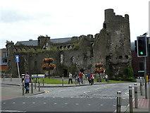 SS6593 : Swansea Castle by Steve Barnes