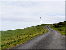 NX1430 : Mull of Galloway, Road to/from the Lighthouse by David Dixon