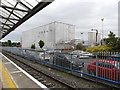 J0407 : A section of the Great Northern Distillery plant from Platform 1 of Clarke Station by Eric Jones