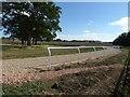 SO8938 : Gallops at Strensham by Philip Halling
