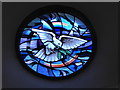 TQ0090 : Chalfont St Peter Parish Church: stained glass window (a) by Basher Eyre