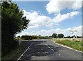 TM0888 : B1077 Mile Road, Banham by Geographer