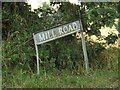 TM0789 : Mill Road sign by Adrian Cable