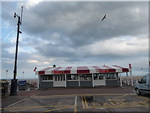 TG5307 : Ice cream parlour, Great Yarmouth seafront by Basher Eyre