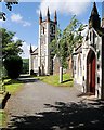 NX6181 : St John's Town of Dalry Parish Church by David Dixon