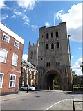 TL8564 : Abbey Gate, Bury St Edmunds: late July 2016 by Basher Eyre