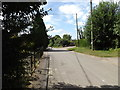 TM0073 : Chapel Road, Wattisfield by Adrian Cable