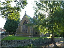 SK8333 : The village church in Woolsthorpe By Belvoir by Richard Humphrey