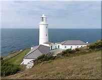 SW8576 : Lighthouse at Trevose Head by Roger Cornfoot