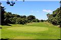 TQ8453 : Hole on Leeds Castle Golf Course by Chris Heaton