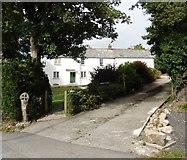 SW9371 : Cross House, St Issey by Roger Cornfoot