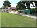 TQ8842 : Rebuilding Smarden Sports Pavilion, The Street by John Baker