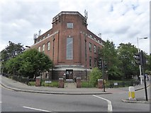 TQ4387 : Telephone exchange, Ilford by David Smith
