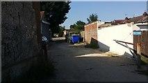 TQ2087 : Alley behind Church Lane, Kingsbury by David Howard
