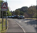 ST3088 : Warning sign - speed humps for 430 yards, Sorrel Drive, Newport by Jaggery
