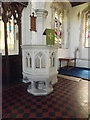 TL9971 : St.Mary's Church Pulpit by Adrian Cable