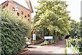 SX9576 : Dawlish Community Hospital - pedestrian entrance by Richard Dorrell